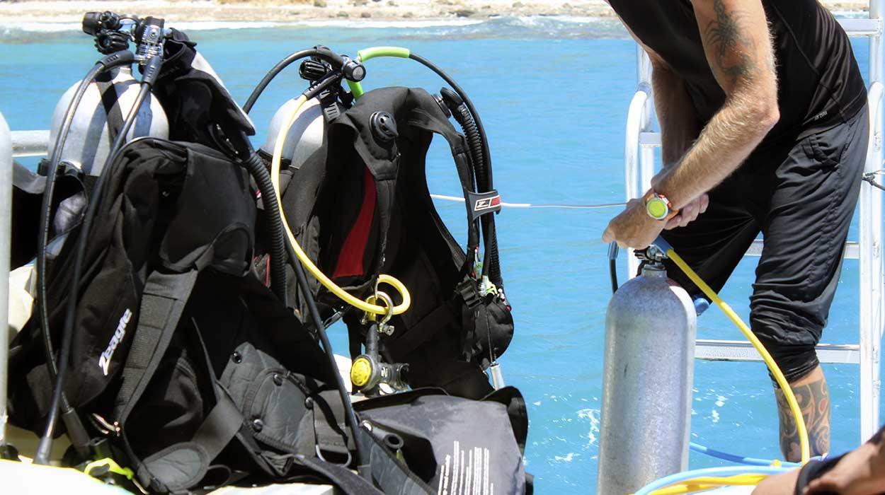 kurs nurkowania w Kostaryce instruktor Padi tanio