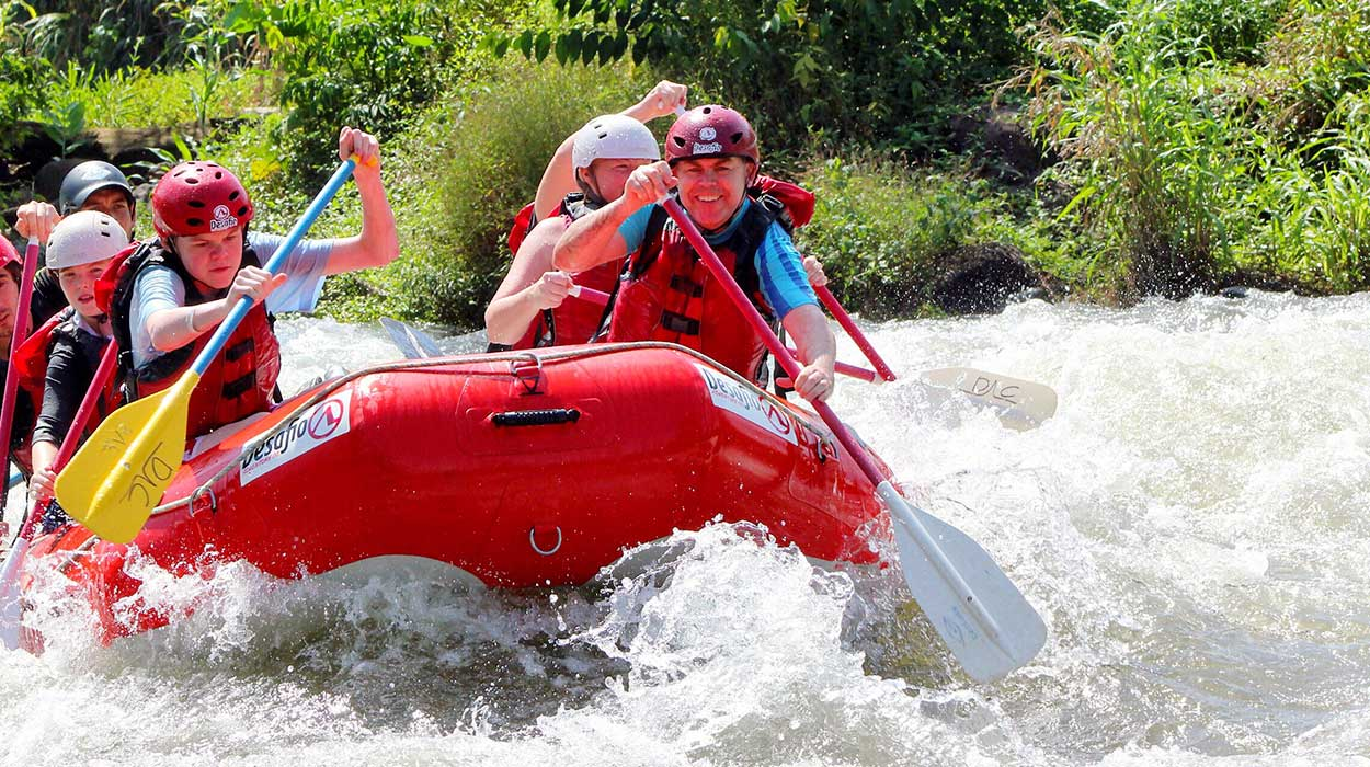 rafting in costa rica information prices where